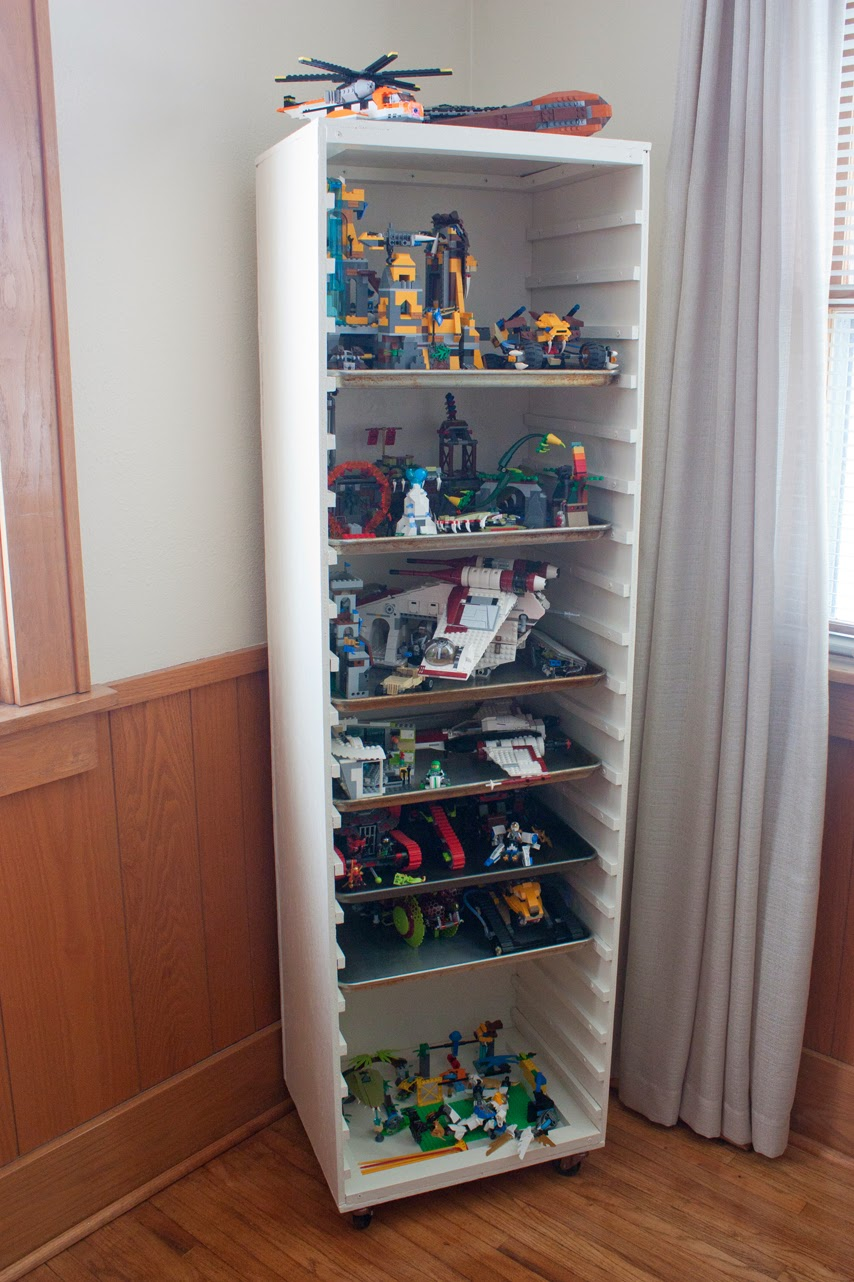 Joy Filled Chaos Cart Creates Huge Amount Of Lego Storage