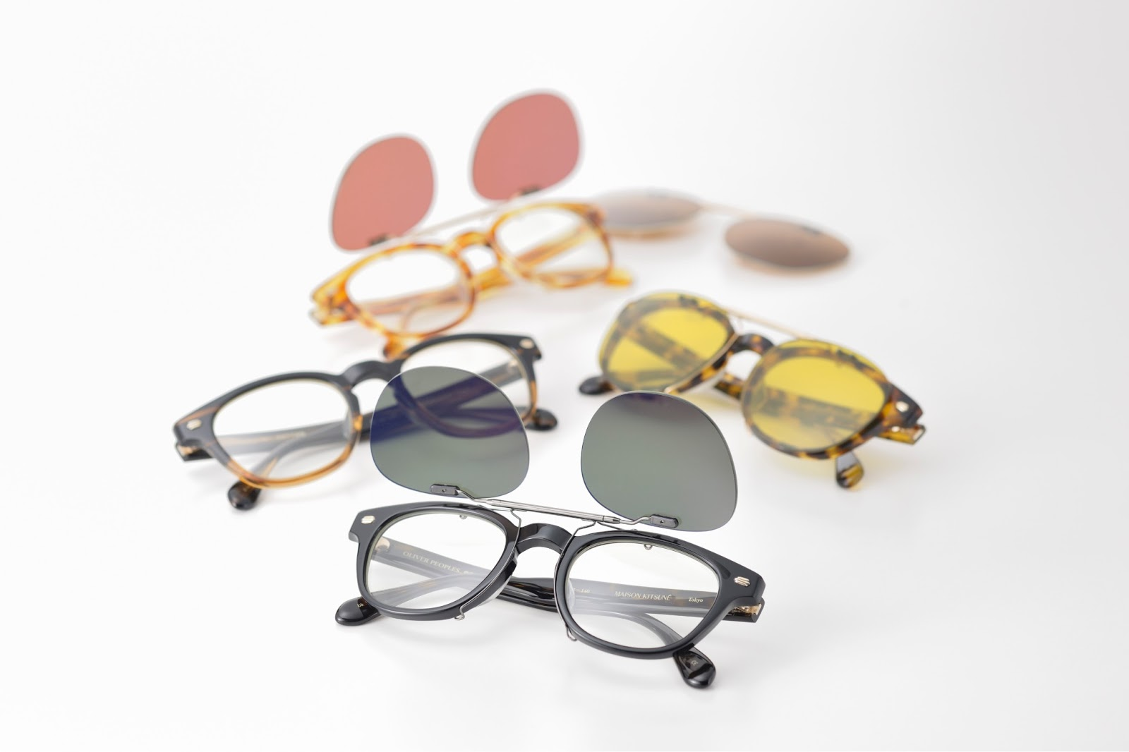 4737e70bcb8d Maison Kitsuné partners with Oliver Peoples for the launch of its ...
