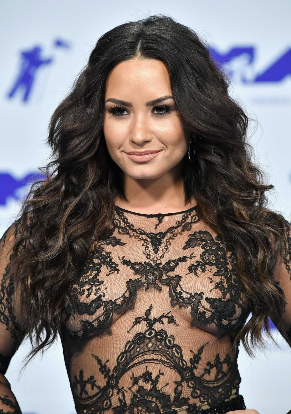 Demi Lovato Is Basically Topless at the MTV Video Music Awards