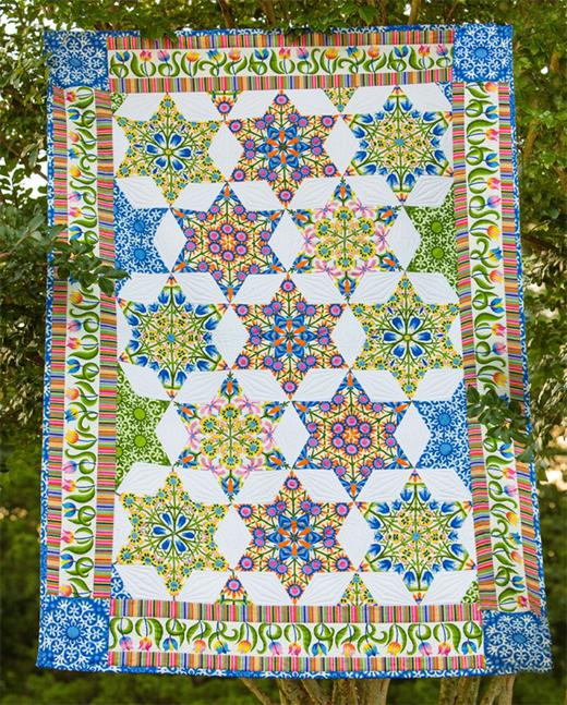 Stargazer Quilt Free Pattern