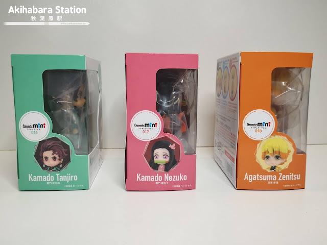 Figuras: Review Figuarts Mini Tanjiro, Nezuko y Zenitsu de Kimetsu no Yaiba - Tamashii Nations