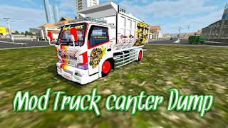 TRUCK CANTER DUMP