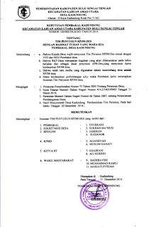 Contoh Sk Sanggar Seni Desa - IlmuSosial.id