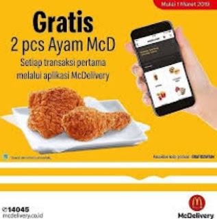 Cara Mendapatkan Ayam Gratis MCD