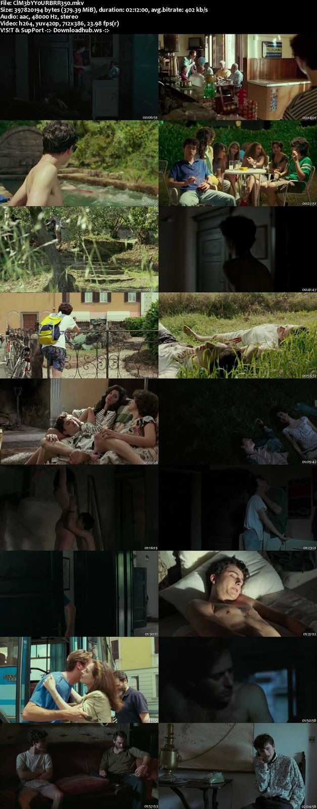 Call Me by Your Name 2017 English 480p BRRip ESubs