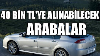 40 bin tlye en iyi arabalar