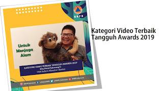 tangguh awards BNPB