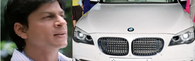 These 5 Celebrities Drive The Most Expensive Cars, Shah rukh khan car