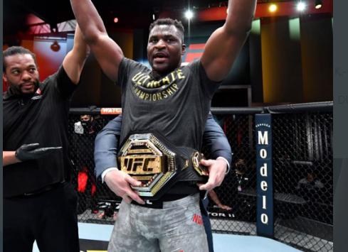 MMA: Le camerounais Françis Ngannou roi des poids lourds de l'UFC (Vidéo)