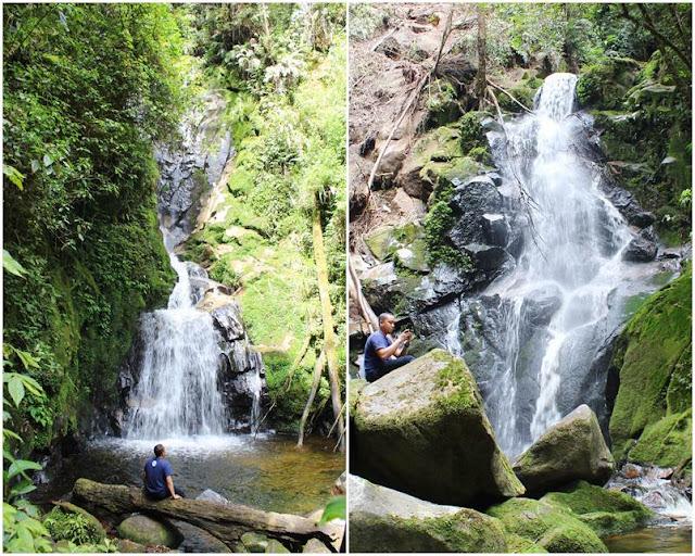 Air Terjun Kembar di Taman Simalem Resort