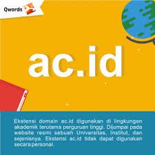 Domain Ac.Id