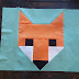 Fancy Fox Quilt Block
