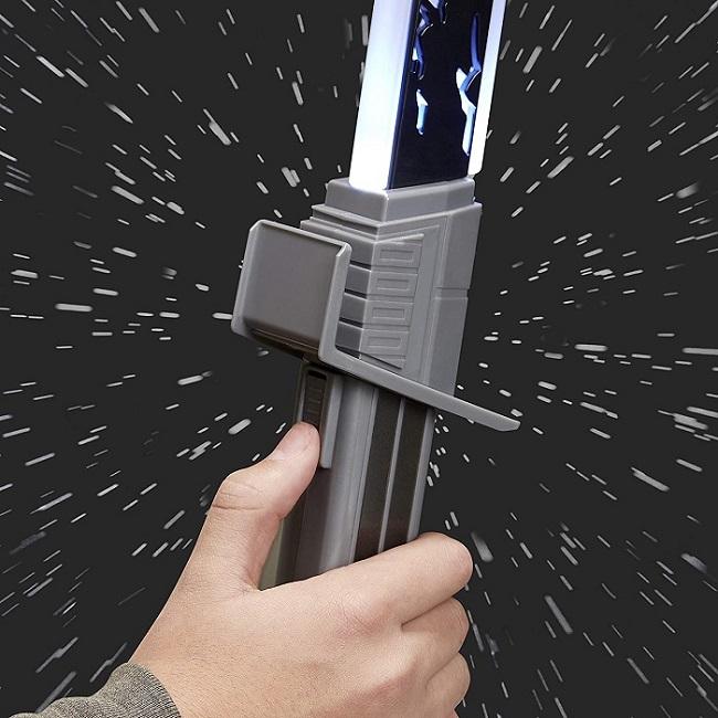 Star Wars Hasbro Mandalorian Darksaber Light Sound