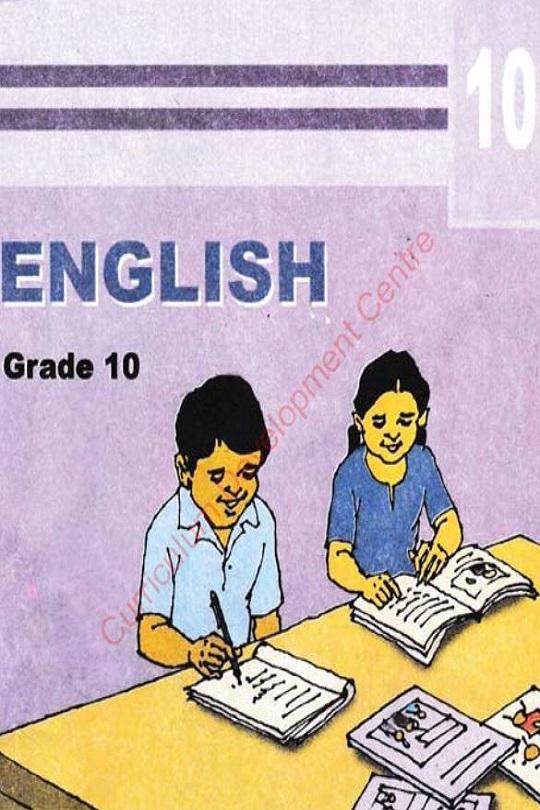 Class 10 / Grade 10 English Textbook / Book