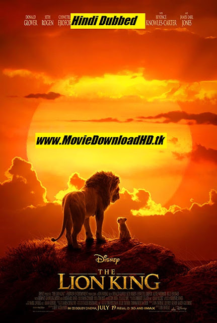 Tamilrockers - The Lion King 2019 Hindi Full Movie Download 720p HD [MovieDownloadHD.tk]