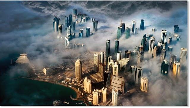 Καταιγίδες και άνεμοι παίρνουν τα πάντα στο Κατάρ!