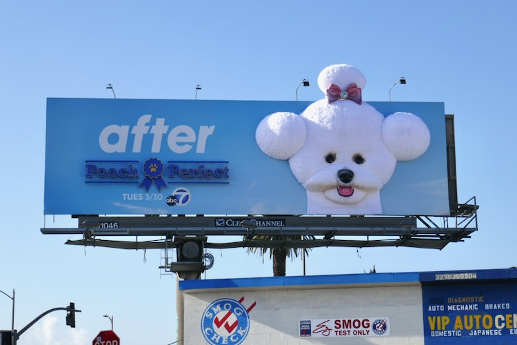 Pooch Perfect After 3D series premiere billboard