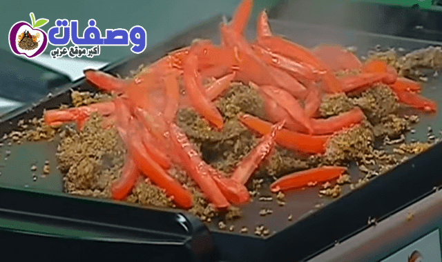 شاورما اللحم الشيف حسن