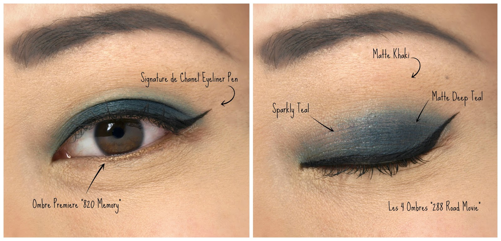 "Chanel Les 4 Ombres Palette in ""288 Road Movie"": Swatches and Review"