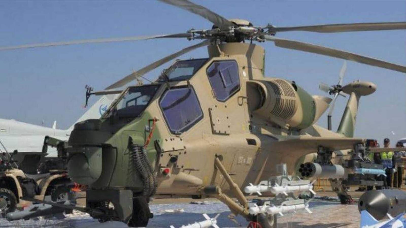 China memperkenalkan helikopter serang - Z-10ME versi ekspor