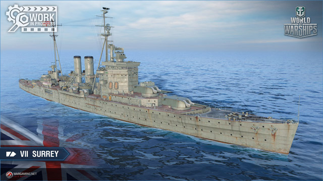 British cruiser Surrey tier VII