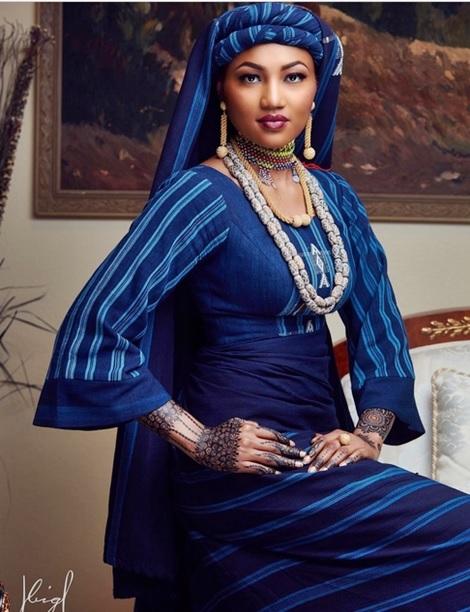 I'm a Proud Fulani Bride - Zahra Buhari Says as She Marries Her Hubby (Photo)