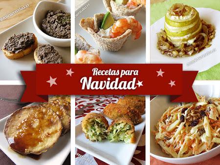 Recetas para Navidad. Entrantes y primeros platos