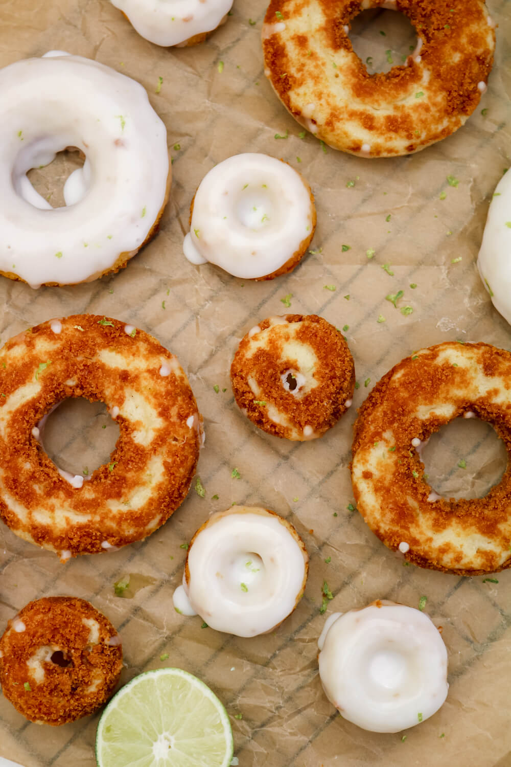 Lime Pie Baked Doughnuts | Take Some Whisks