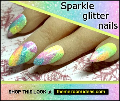 sparkle glitter nails rainbow nails colorful nail designs glitter nails colorful nails decorating nails