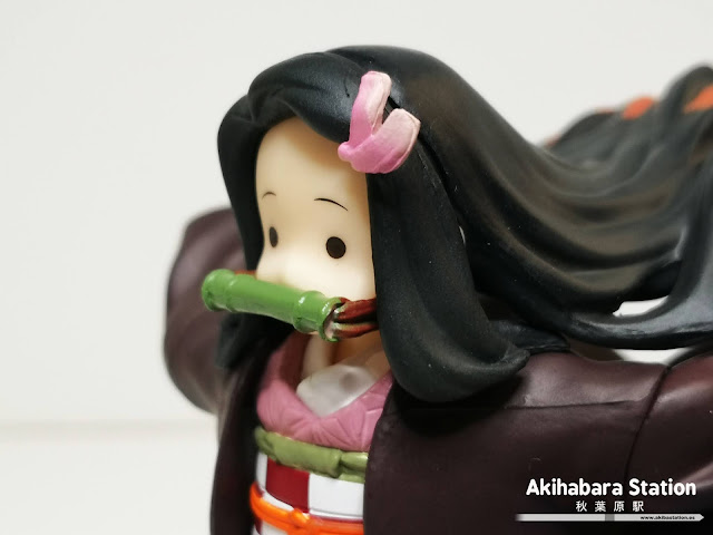 Review de Figuarts ZERO Nezuko Kamado de Kimetsu no Yaiba - Tamashii Nations.
