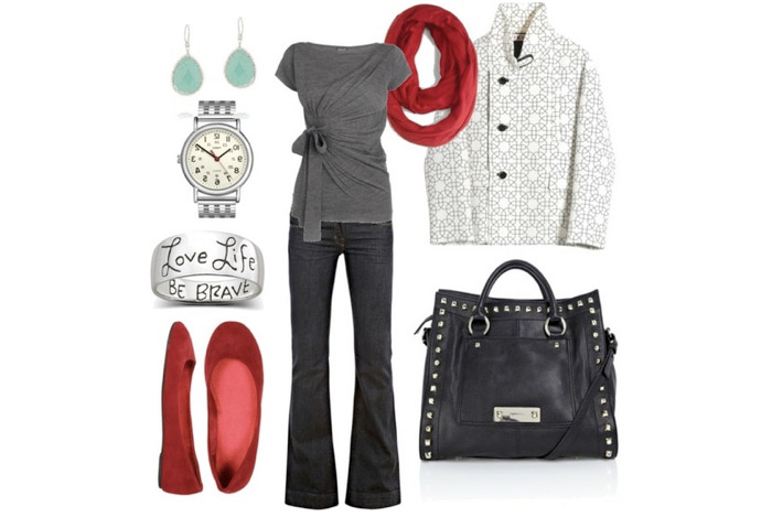 сочетаемость цвета сумки с одеждой и украшениями