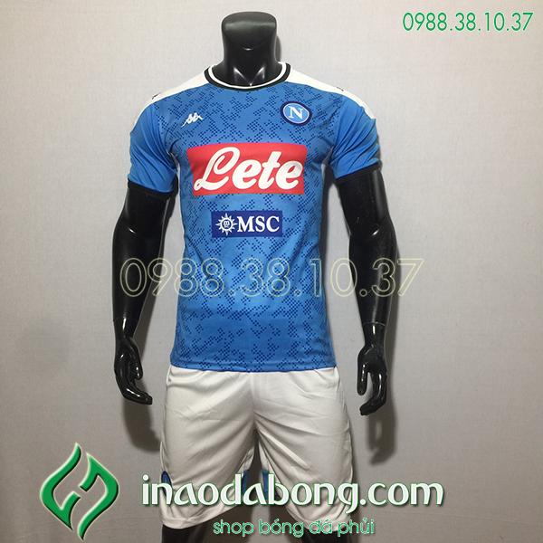 Áo bóng đá CLB Napoli màu xanh 2020