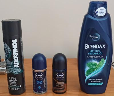 Toni&Guy ve Blendex Mentol Şampuanı ile Yeni Nivea Men Deep Dimension Espresso Deodorant Ürün İncelemesi