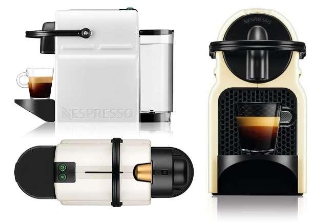 Cafeteira Nespresso Inissia tres vistas