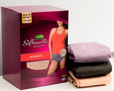 Free Depend Silhouette Briefs Sample