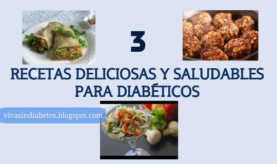 Recetas de Comida Saludables para Diabeticos