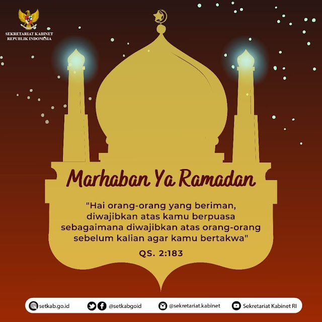 Pemerintah Tetapkan Awal Ramadan 1442 H Jatuh Hari Selasa
