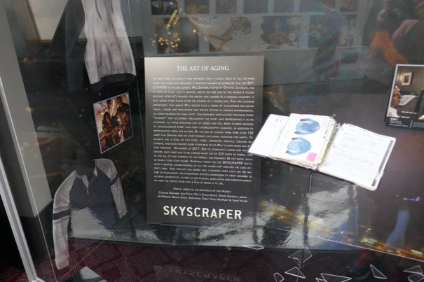 Skyscraper Art of aging costume exhibit