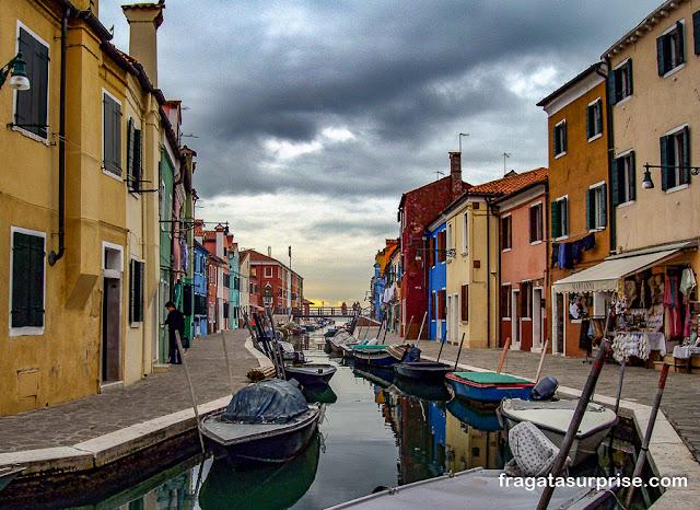 Ilha de Burano, Itália