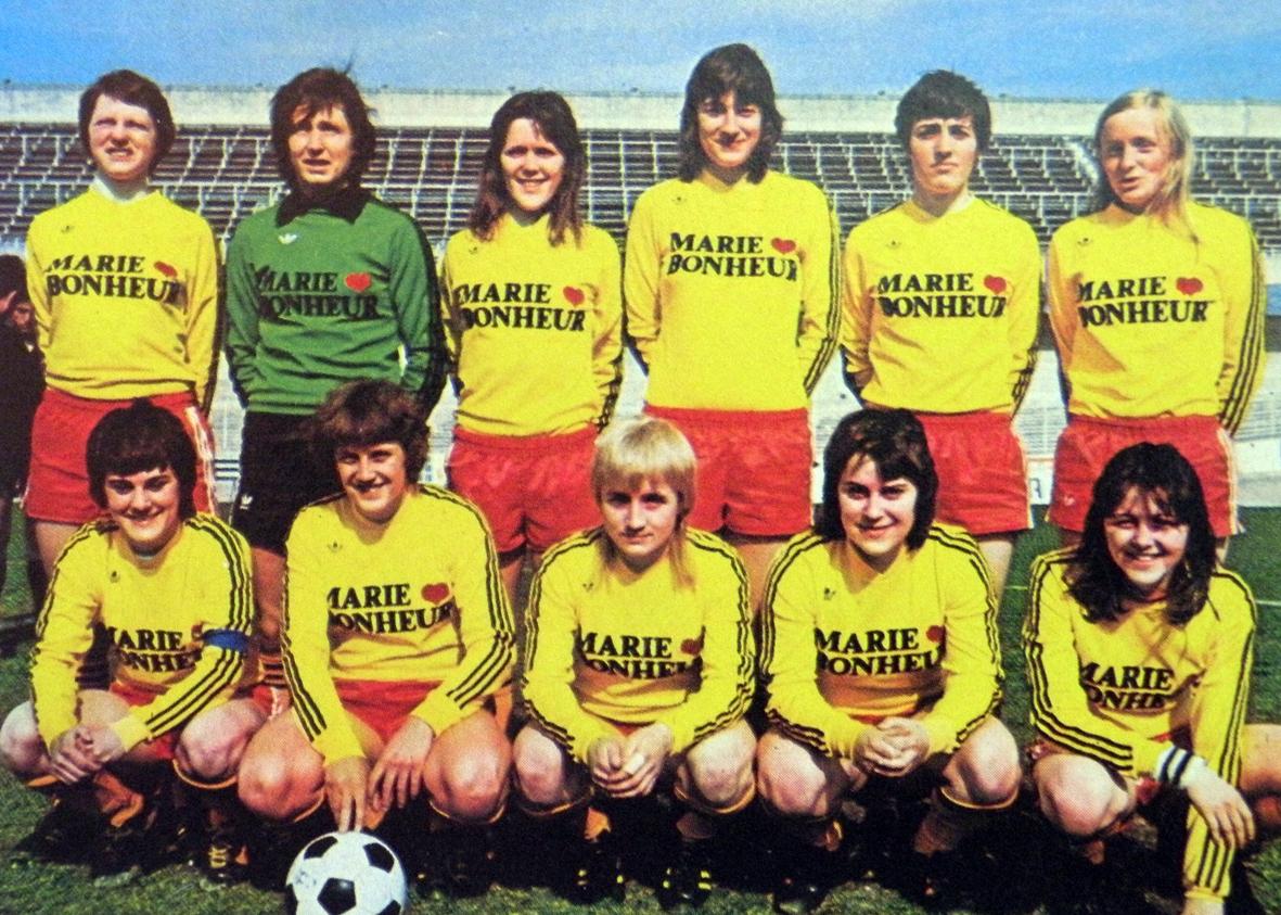 The Vintage Football Club Stade De Reims Feminin 1975 76