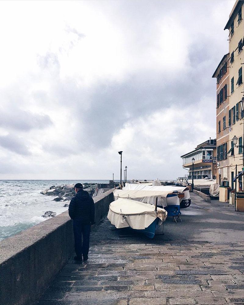 Porticciolo Di Boccadasse, Genoa Italy