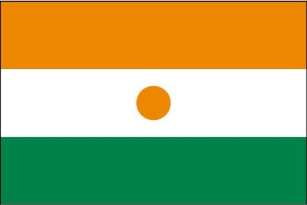 Bandera del Níger