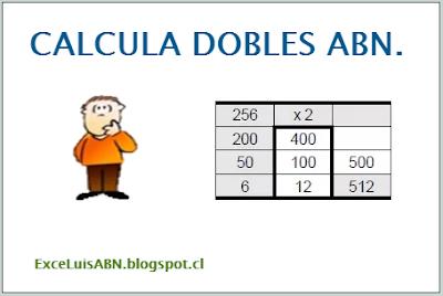 Calcula dobles ABN.