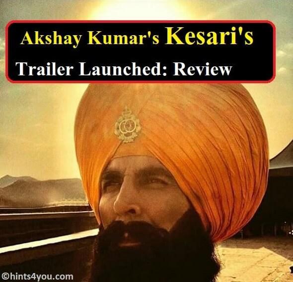 Kesari Movie Trailer out: