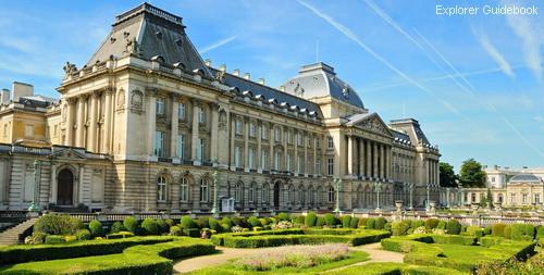 Tempat wisata terkenal di Brussels Belgia Brussels Royal Palace
