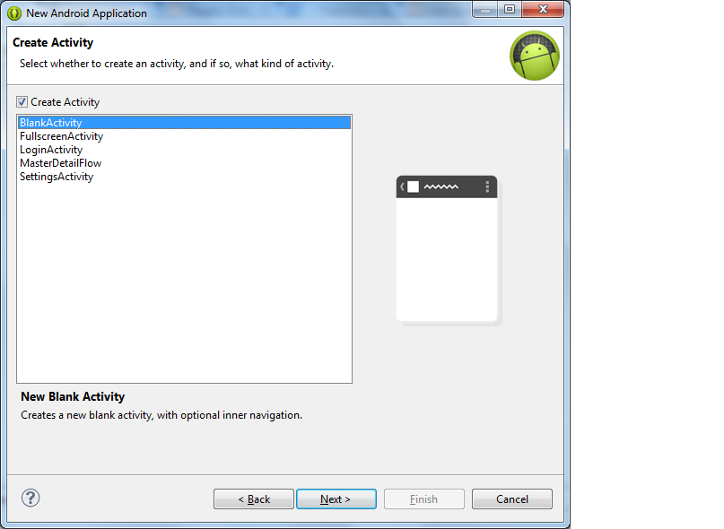 PRAKASH BLOG: Create a first Android project with Eclipse