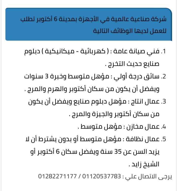 وظائف الاهرام عدد الجمعة ١٥ مايو