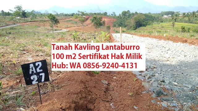 Progress Kavling Lantaburo Tanjungsari dan Kavling Lantaburo Karyamekar Cariu oleh Lantaburo Propertindo