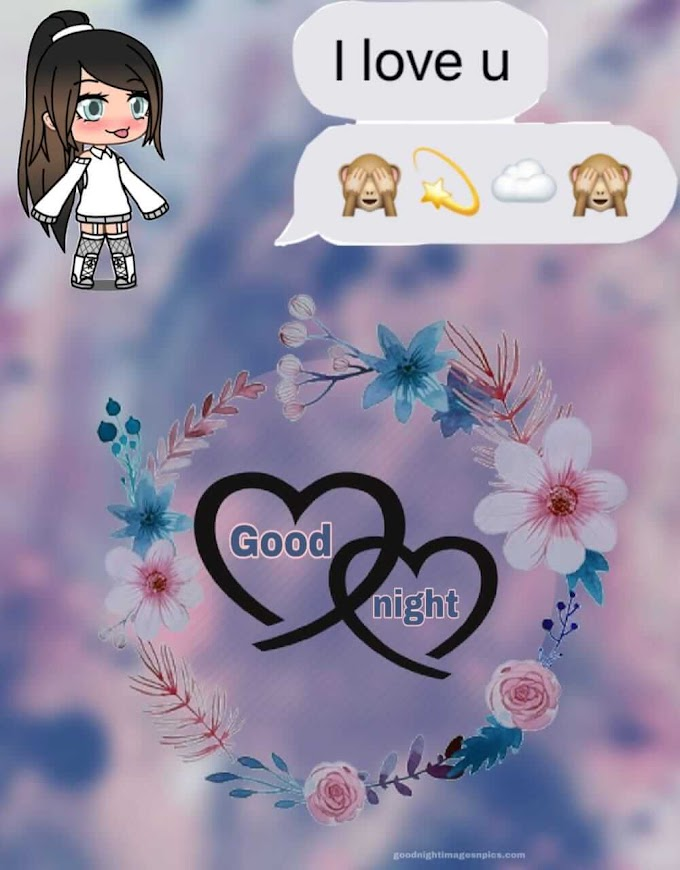 ➽ Beautiful Lovely Good night Images, Pictures, Photos With Love For Whatsapp - GoodNightImageNpics