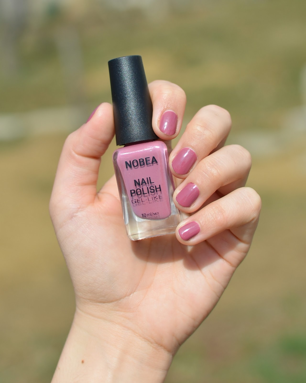 Nobea Cosmetics Nail Polish Dune Nude